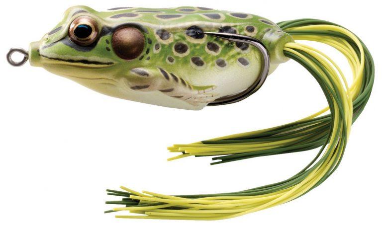 Mythik Lures Live Target Topwater Frog bass fishing grass mats vegetation