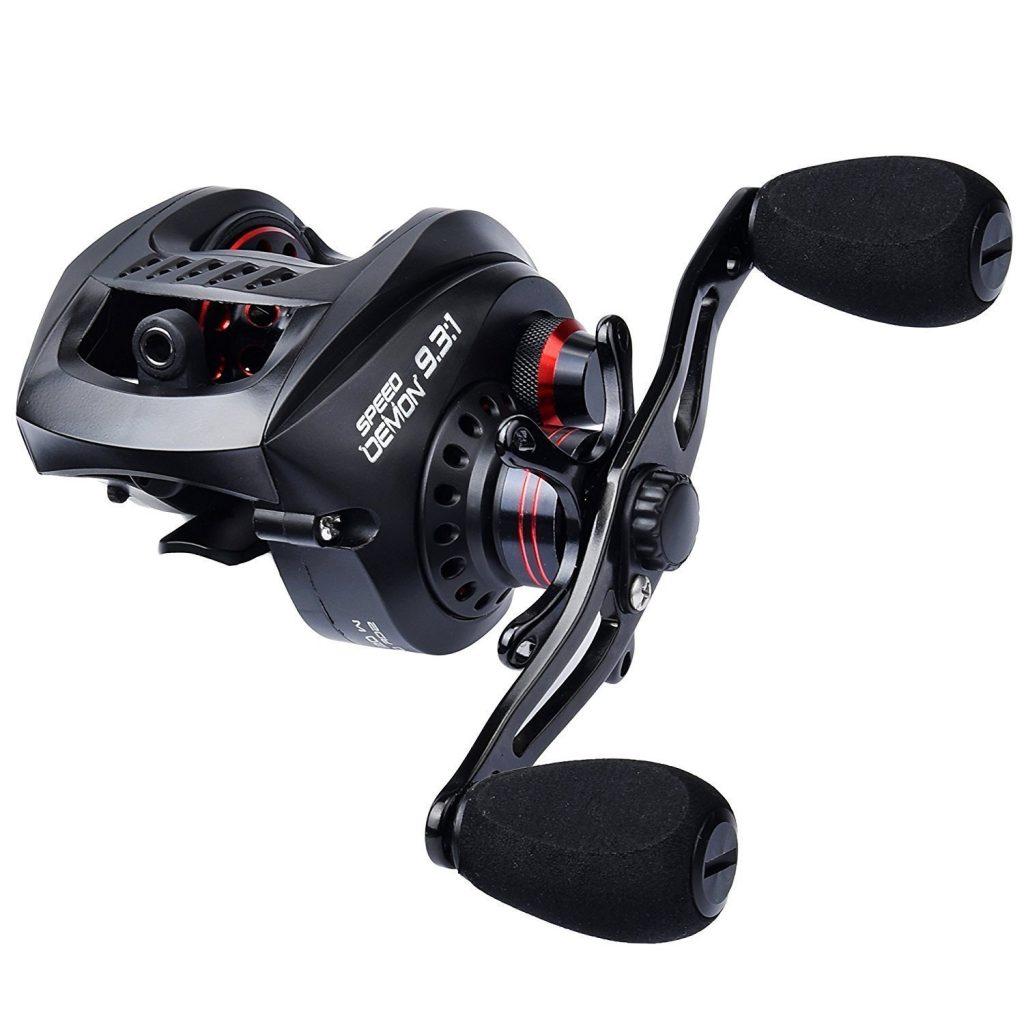 kastking speed demon baitcasting fishing reel review