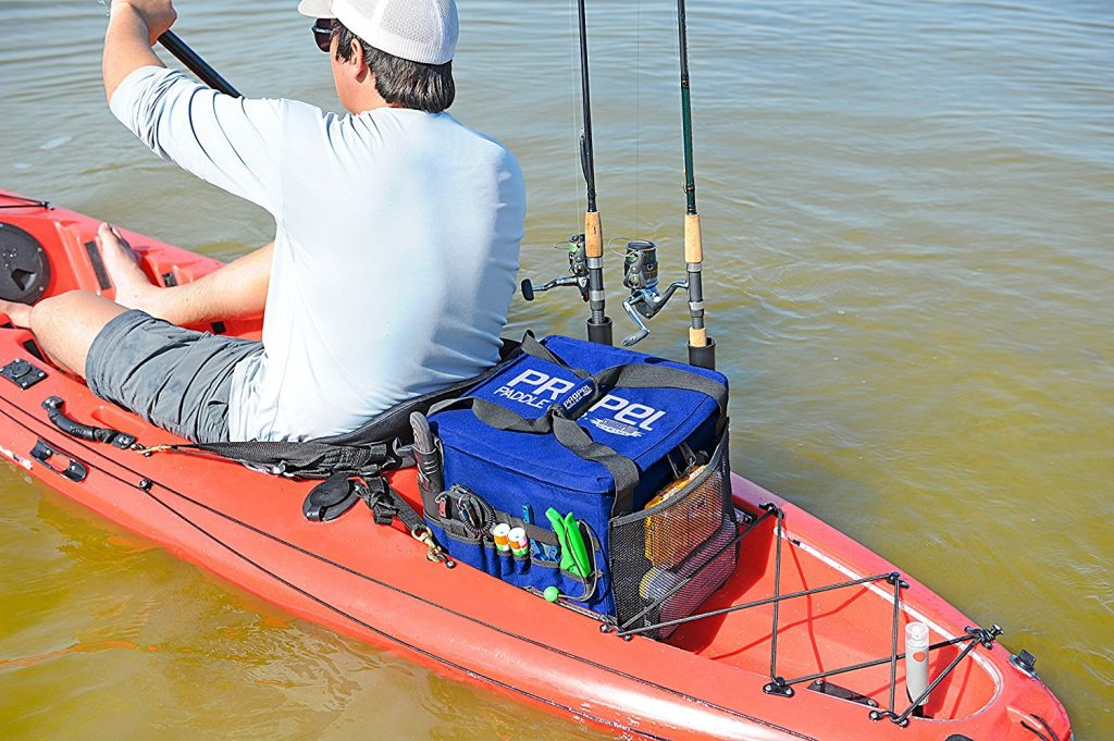 Yak gear 5 easy ways this kayak fishing bag allows you for Kayak fish bag