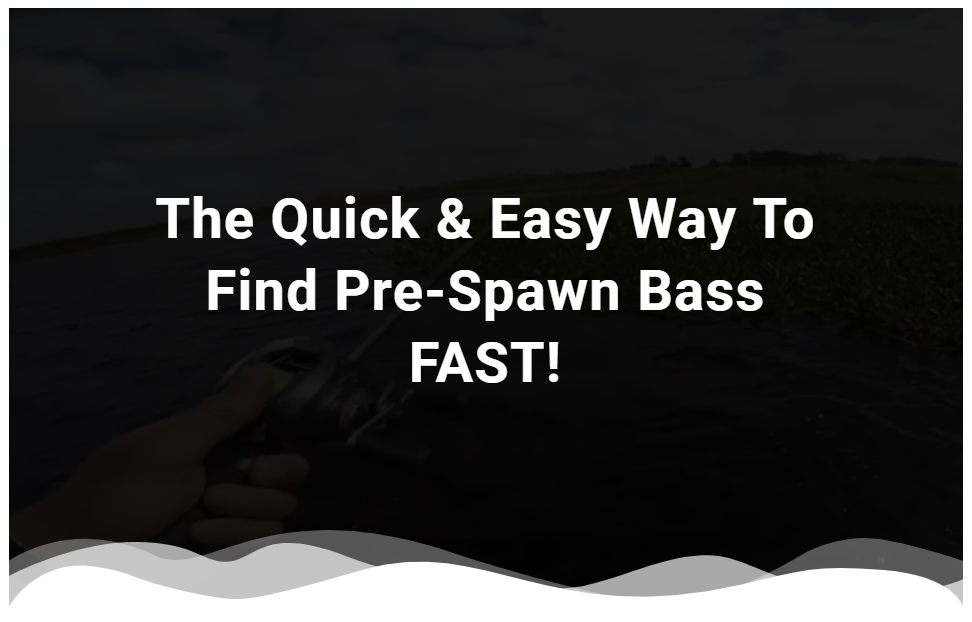 The Quick & Easy Way To Find Pre-Spawn Bass
