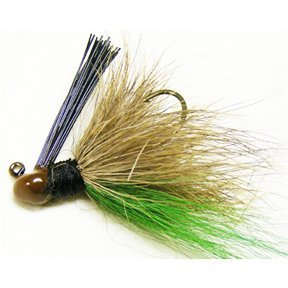 Arkie Finesse Bucktail Hair Jig For Pre-Spawn Bass