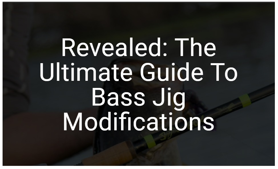 Revealed – The Ultimate Guide To Bass Jig Modifications